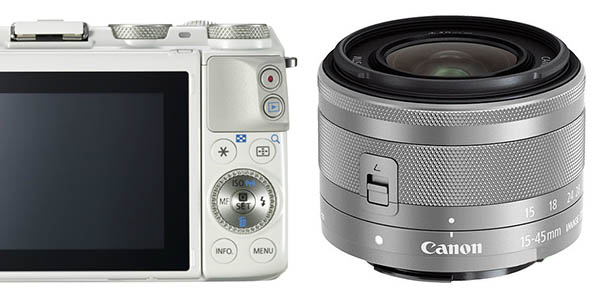 Cámara CSC Canon EOS M3 barata