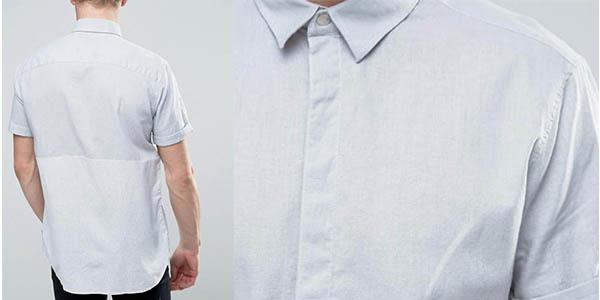 camisa de manga corta Jack & Jones versátil en algodón