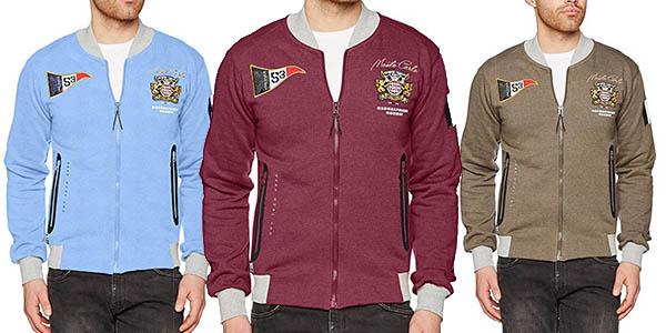 chaqueta sudadera de diseño casual Geographical Norway chollo