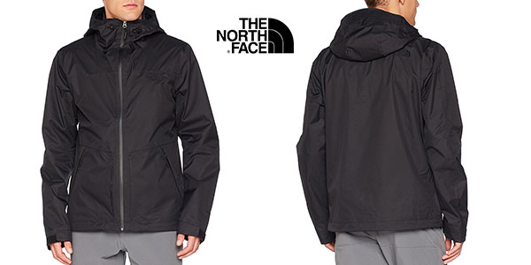 chaqueta negra the north face