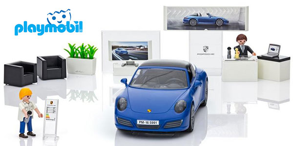 chollo set porsche 911 targa de playmobil con 2 figuras. Black Bedroom Furniture Sets. Home Design Ideas