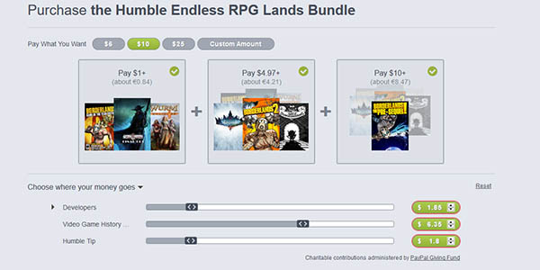 Comprar Humble Endless RPG Lands Bundle