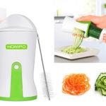 Cortador espiralizador de verduras Hompo rebajado