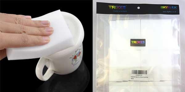 Pack de 30 borradores mágicos TRIXES quita manchas para limpieza baratas en Amazon