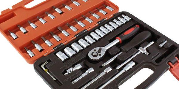 herramientas con puntas para allen y torx maletín completo con relación calidad-precio brutal