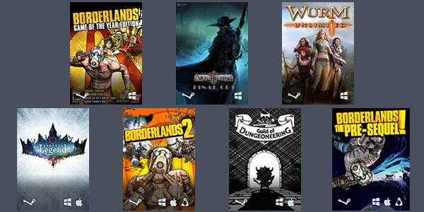 Humble Endless RPG Lands Bundle
