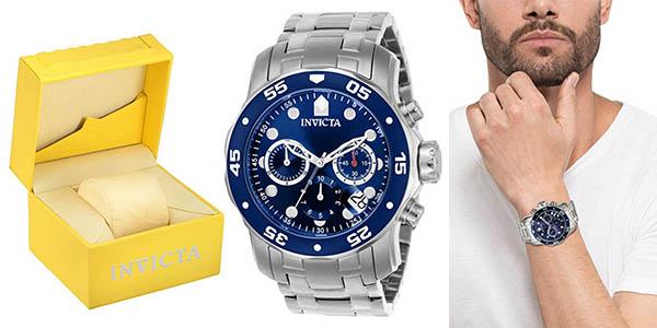 diseño de variedad conseguir baratas verdadero negocio Reloj Invicta Pro Diver analógico con correa en acero ...