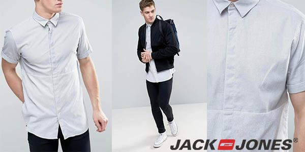 Jack & Jones Core camisa para hombre de diseño casual chollo