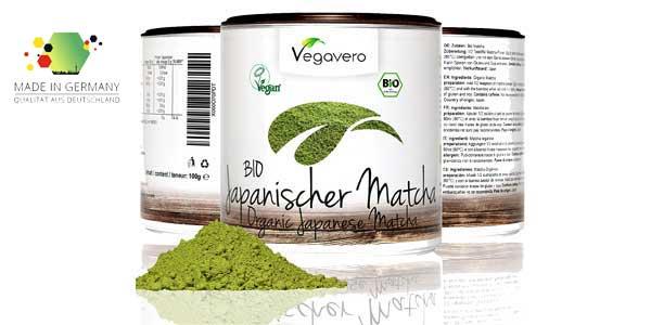 Bio té verde Matcha Japonés Vegavero de calidad Premium chollo en Amazon
