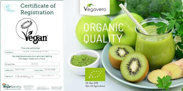 Bio té verde Matcha Japonés Vegavero de calidad Premium barato en Amazon