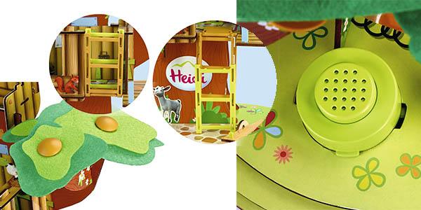 juguete de 3 a 6 años de la serie de dibujos de Heidi ideal para potenciar la imaginación