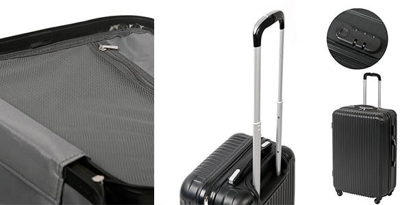 maletas con ruedas ABS de diferentes tamaños con gran relación calidad-precio