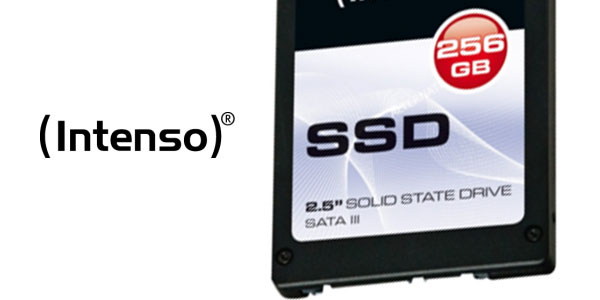 Memoria flash SSD Intenso HD11270352 de 256 GB rebajada