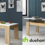 Mesa de centro Ganso de Duehome con 2 superficies elevables disponible en 2 colores chollo en eBay