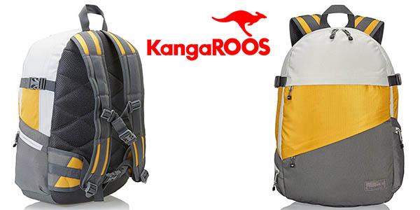 mochila KangaROOS Wasilla Rucksack con compartimentos chollo