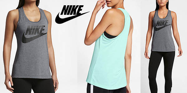 Nike sportswear Essential camiseta de tirantes mujer barata