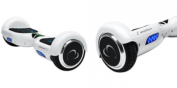 Hoverboard SmartGyro X2 en color blanco