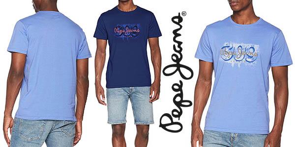Pepe Jeans Alnus camiseta casual para hombre barata