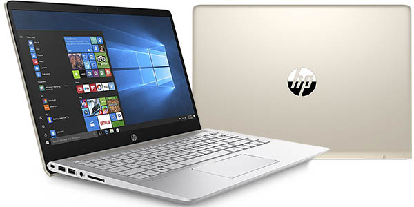 "Portátil HP Pavilion 14-bf007ns de 14"" Full HD (7-7500U, 12GB, GF 940 MX)"