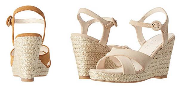 sandalias para mujer altas y cómodas relación calidad-precio brutal