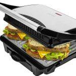 Sandwichera grill Panini 2 en 1 con asador de piedra RockStone de 1000W chollo en eBay