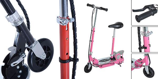 scooter eléctrico con gran autonomía 15 km ideal
