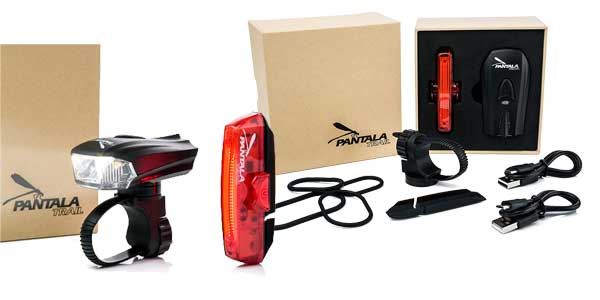 Set de luces LED recargables Pantala Trail chollo en Amazon