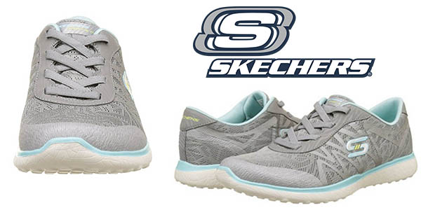 Skechers Microbust Showdown zapatillas para mujer baratas
