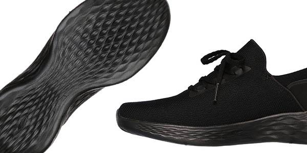 Skechers You-Inspire en color negro zapatillas con ajuste tipo calcetín chollo