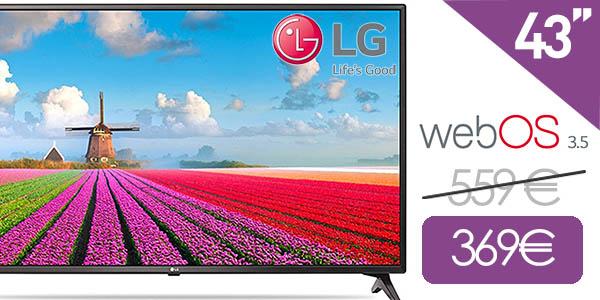 Smart TV LG 43LJ614V de 43'' con webOS 3.5
