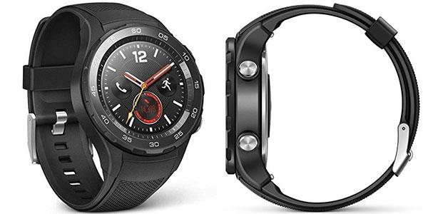 Smartwatch Huawei 2 4G negro carbono