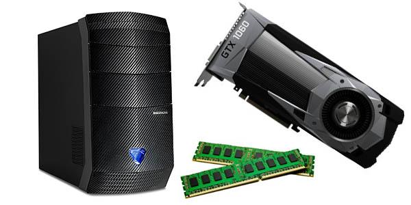 MEDION ERAZER P5232 F con nVidia GeForce GTX 1060