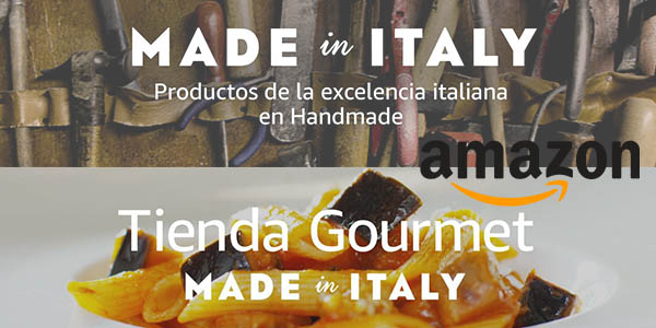 tienda de productos italianos Amazon octubre 2017