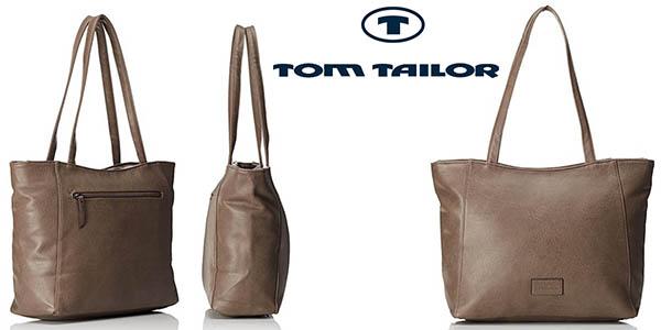 Tom Tailor Acc Miripu bolso shopper para mujer chollo