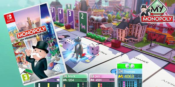 Videojuego Monopoly para Nintendo Switch barato