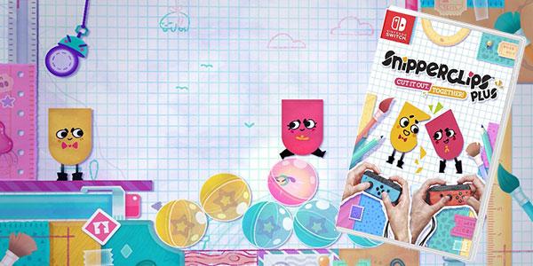 Videojuego Snipperclips Plus ¡A recortar en compañía!para Nintendo Switch barato