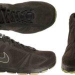Zapatillas Nike T-Lite NBK de piel marrón para hombre baratas