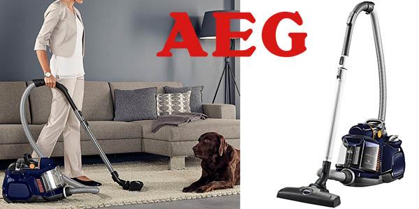 AEG LX7 Power aspirador trineo sin bolsa con cepillo parketto oferta flash Amazon