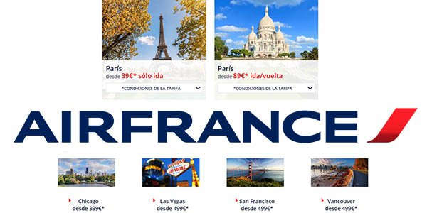 Air FRance Cyber Monday 2018