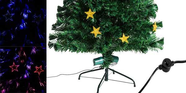 Chollo rbol de navidad homcom con decoraci n y luces por - Arbol navidad barato ...