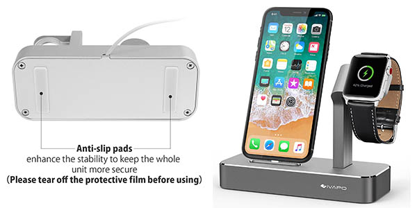 base iVapo para iPhone y Apple Watch con genial relación calidad-precio