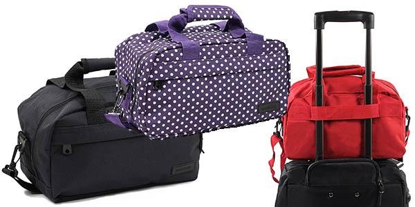 bolsas de mano para viaje Members con las medidas permitidas por las aerolíneas y genial relación calidad-precio