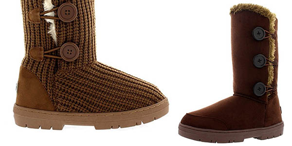 zapatos de separación 4f22e 066d0 Chollazo Botas Holly 3 de botón clásico para mujer por sólo ...
