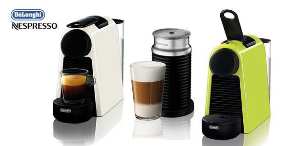Cafetera de cápsulas De'Longhi Nespresso Essenza Mini EN 85 (lima) chollo en Amazon España