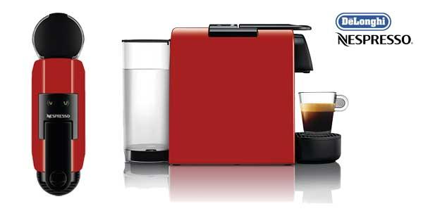Cafetera de cápsulas De'Longhi Nespresso Essenza Mini EN 85 (roja) chollo en Amazon España