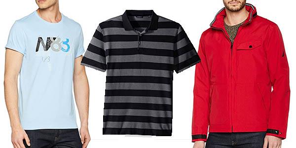 camisas polos cazadoras Nautica para hombre rebajados
