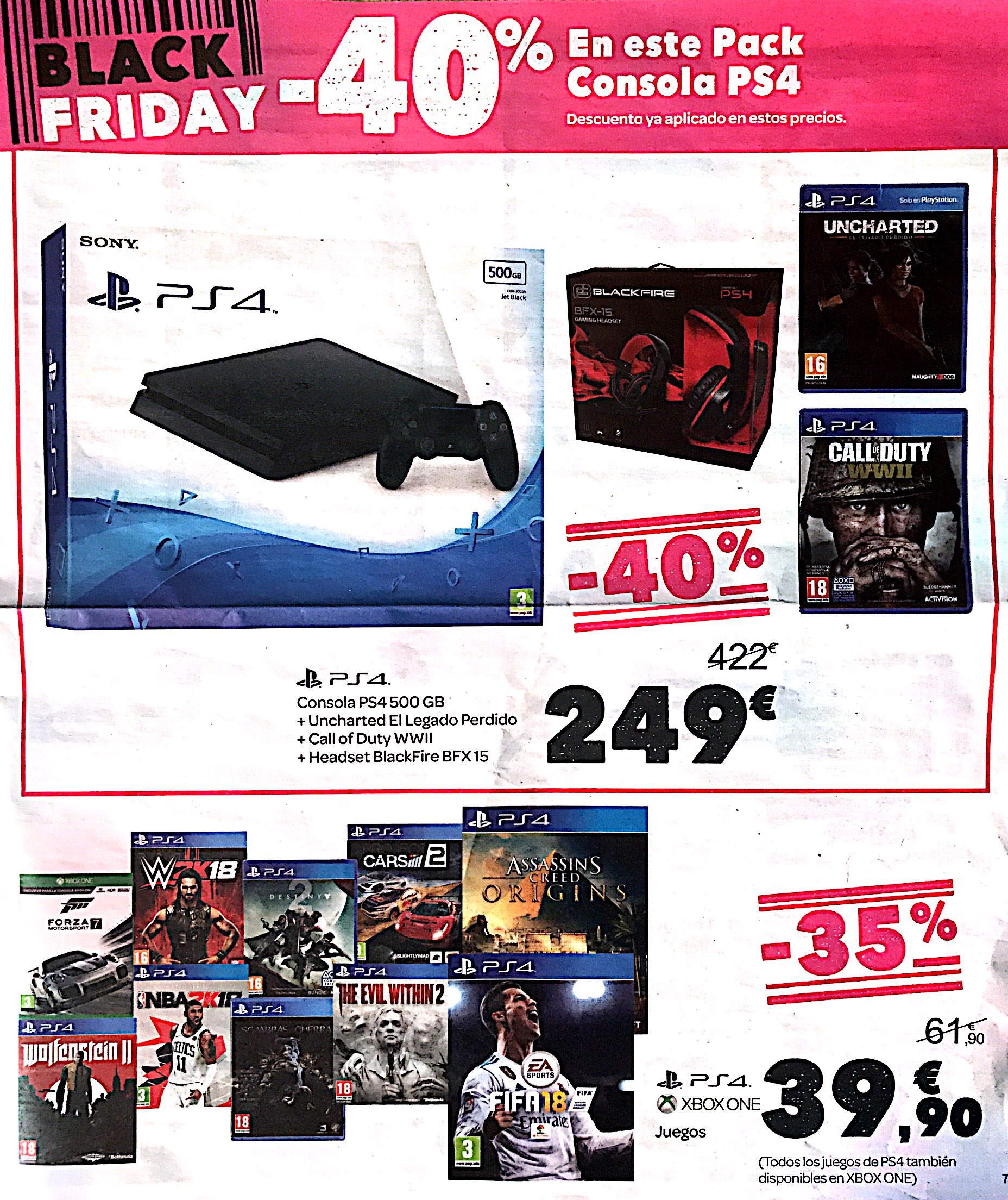 Play Station VR ~ Impresiones  Carrefour-black-friday-2017-pag-10