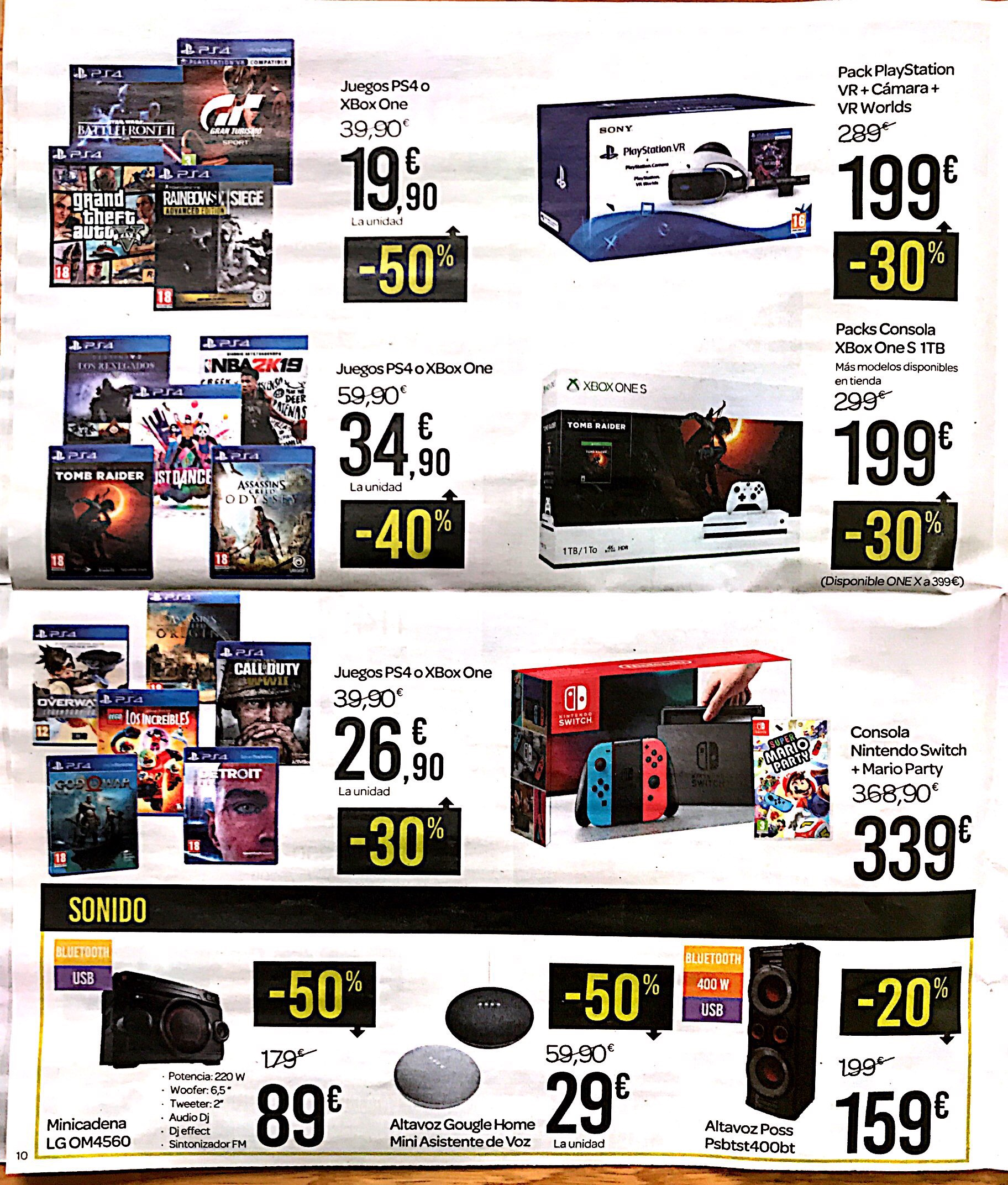 Chollos Del Catalogo Carrefour Black Friday 2018