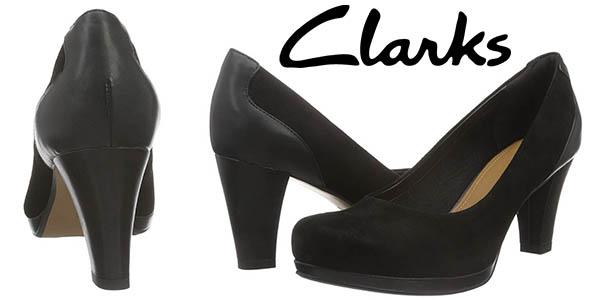 9537f6ea Zapatos Clarks Chorus Chic de tacón en color negro por sólo 59,95 ...