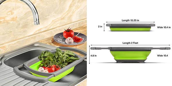 colador para fregadero plegable con gran relación calidad-precio